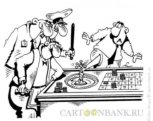Карикатура: Выманивание денег, Кийко Игорь
