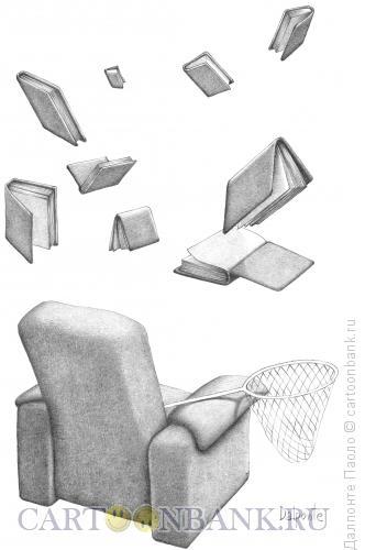 Карикатура: летающие книги, Далпонте Паоло