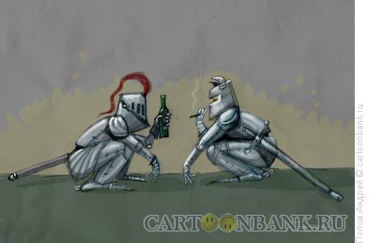 Карикатура: Гопники, Попов Андрей