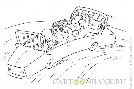 Карикатура: Автокровать, Смагин Максим