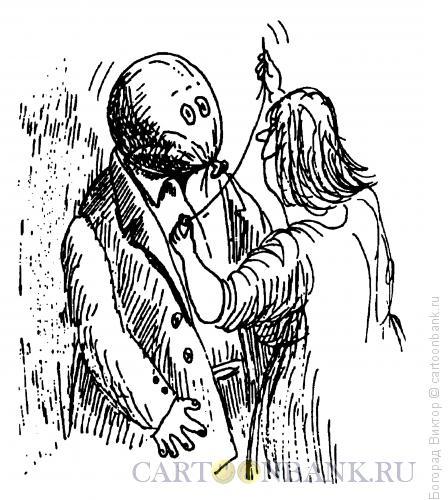 Карикатура: Иголочка, Богорад Виктор