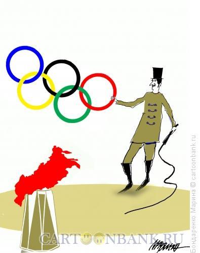 Карикатура: Олимпиада и Цирк, Бондаренко Марина