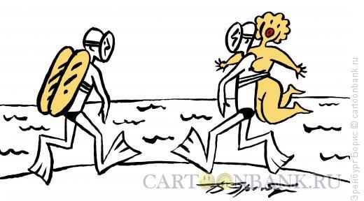 Карикатура: Баллон, Эренбург Борис