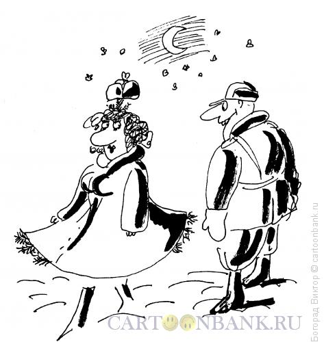 Карикатура: Спрятанная елочка, Богорад Виктор