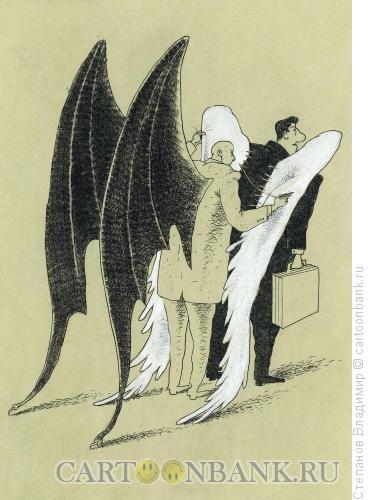 Карикатура: Выборная технология, Степанов Владимир