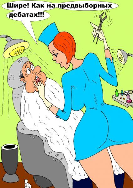 Карикатура: Депутат, Валерий Каненков