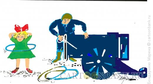 Карикатура: Разоружение, Бондаренко Марина
