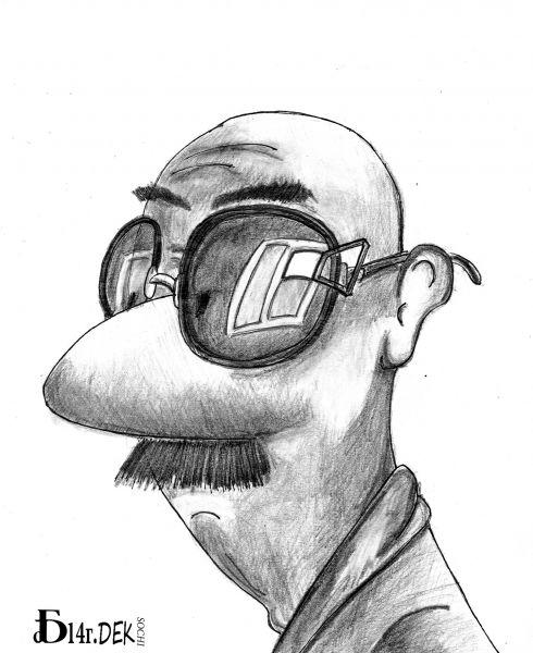 Карикатура: Асимметрия., БАД