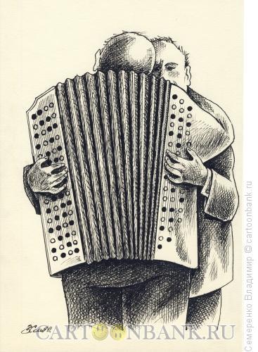 Карикатура: Лицемерие, Семеренко Владимир