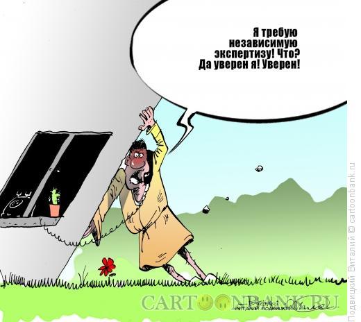 Карикатура: Независимая экспертиза, Подвицкий Виталий