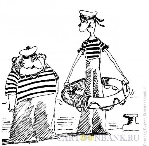 Карикатура: Спасательный круг, Богорад Виктор