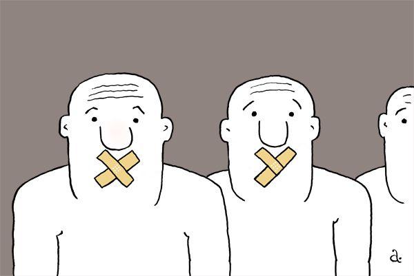 Карикатура: Нецензурный анекдот, Василий Александров