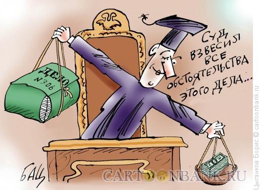 Карикатура: взвешенное решение, Цыганков Борис