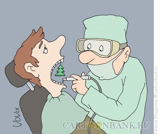Карикатура: Свежее дыхание, Иванов Владимир