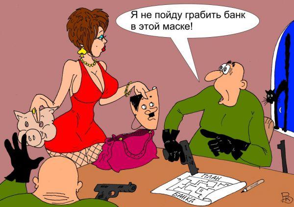 Карикатура: Перебор, Валерий Каненков