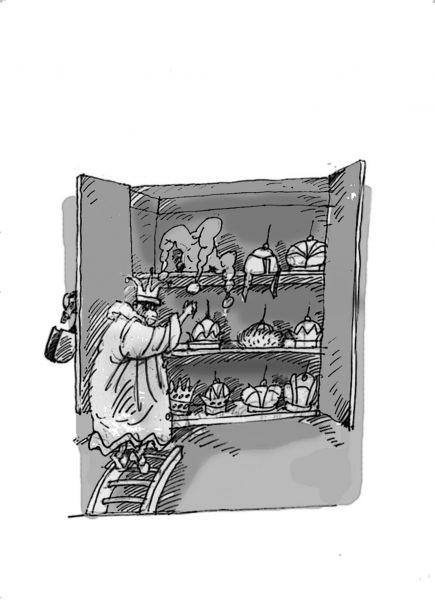 Карикатура: Шапки