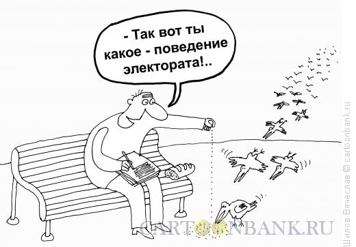 Карикатура: Электорат, Шилов Вячеслав