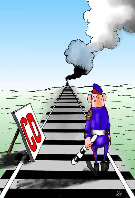 Карикатура: Це-О, Ануфриев