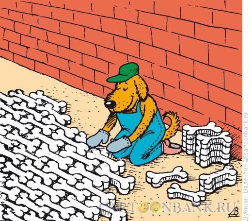 Карикатура: Плитка, Дубинин Валентин