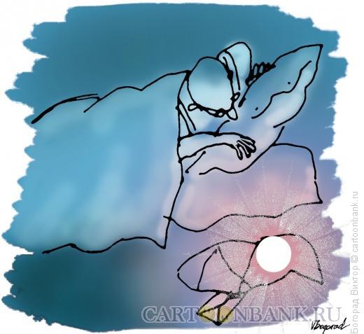 Карикатура: Солнце-подкидыш, Богорад Виктор
