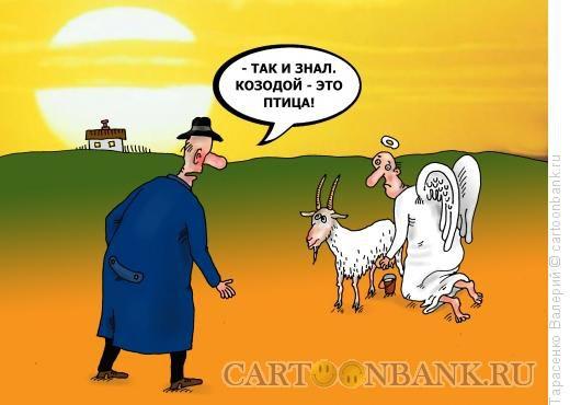 Карикатура: Козодой, Тарасенко Валерий