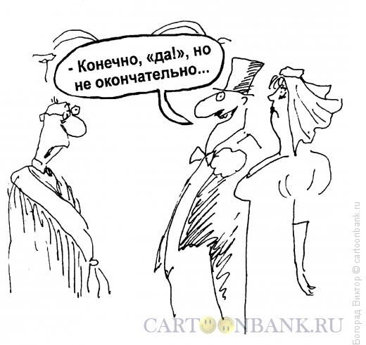 Карикатура: Не окончательное ДА, Богорад Виктор
