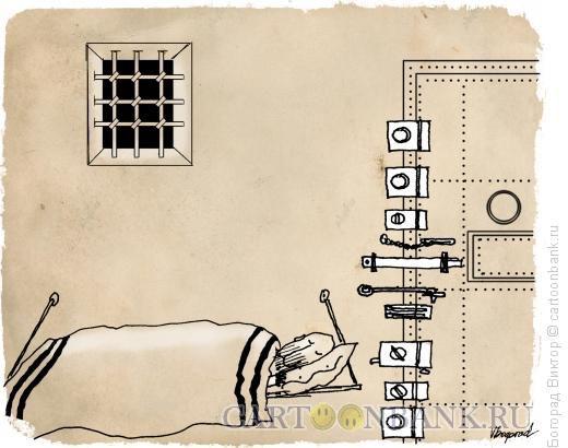 Карикатура: Безопасность камере, Богорад Виктор