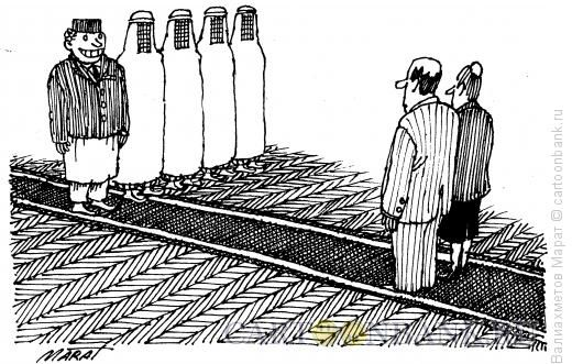 Карикатура: Президенты, Валиахметов Марат