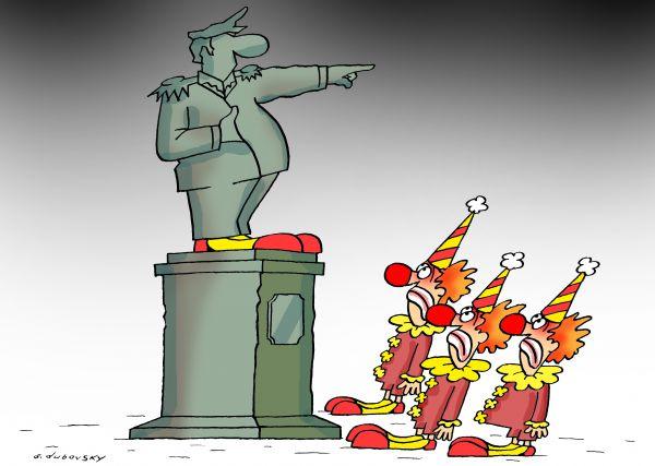 Карикатура: Памятник, Александр Дубовский