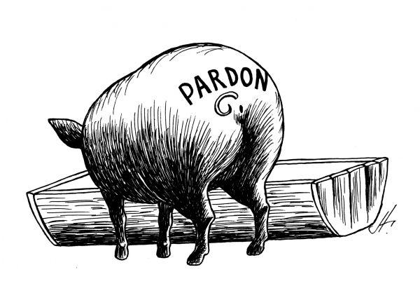 Карикатура: Пардон, Аркадий Гурский