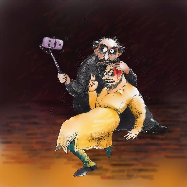 Карикатура: фото для потомков, Алла Сердюкова