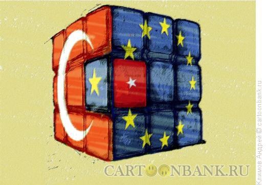Карикатура: Миграция в Евросоюз, Климов Андрей