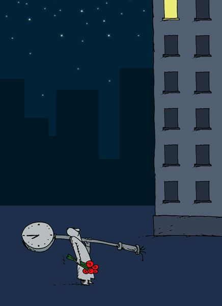 Карикатура: без названия, Валерий Момот
