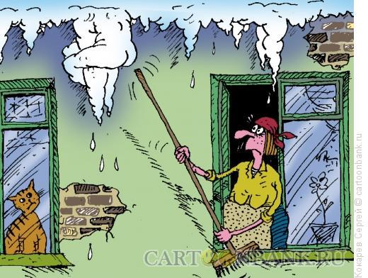 Карикатура: сосуля, Кокарев Сергей