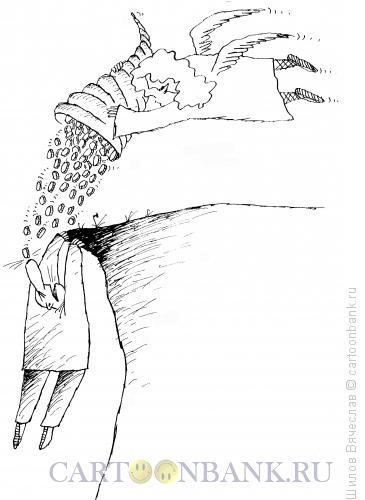 Карикатура: Рог изобилия, Шилов Вячеслав