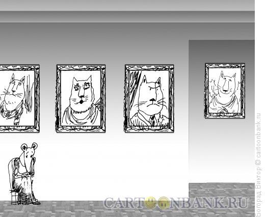 Карикатура: Выставка, Богорад Виктор