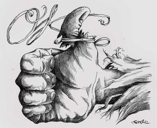 Карикатура: ОптимизмЪ, Кир Непьющий