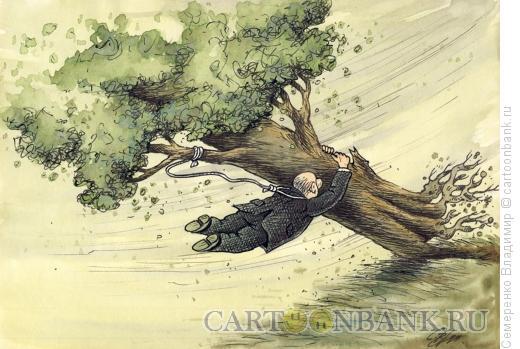 Карикатура: Непредвиденное обстоятельство, Семеренко Владимир