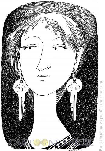Карикатура: Богатая невеста, Валиахметов Марат