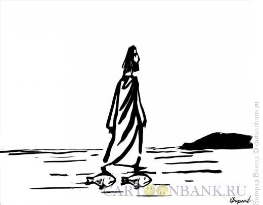 Карикатура: Подоплека чуда, Богорад Виктор