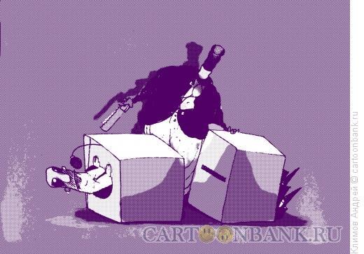 Карикатура: Факир и оратор, Климов Андрей