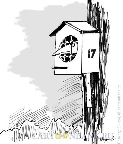 Карикатура: Своречник-камера, Богорад Виктор