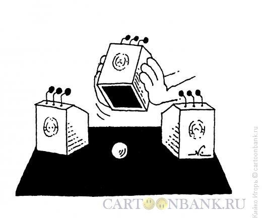Карикатура: Шарик-малик, Кийко Игорь