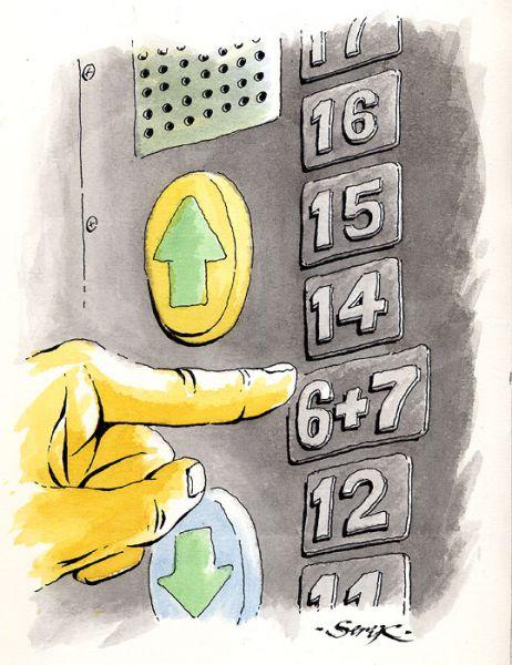 Карикатура: О числе 13, Кир Непьющий