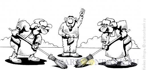 Карикатура: Вброс, Кийко Игорь
