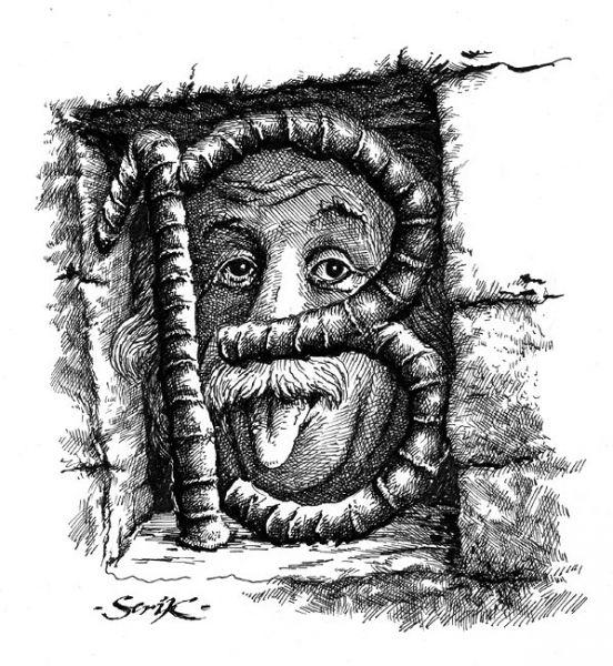 Карикатура: За предубеждением, Кир Непьющий