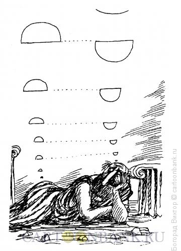 Карикатура: Философ, Богорад Виктор