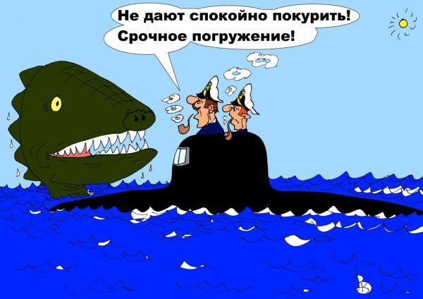 Карикатура: Ни минуты покоя, Валерий Каненков