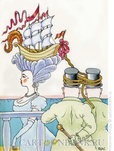 Карикатура: Кнехт, Никитин Игорь