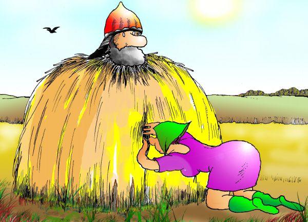 Карикатура: Вот это да!, Николай Кинчаров
